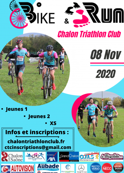 Affiche Bike and run 2020