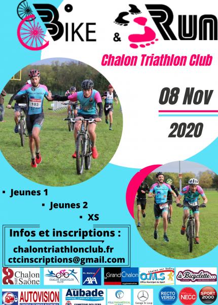 Affiche Bike and run 2020